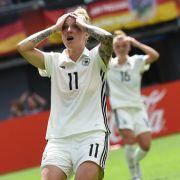 EM-Aus für deutsche DFB-Frauen gegen Dänemark (Foto)
