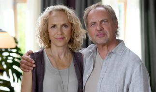 Juliane Köhler mit Schauspielkollege Uwe Ochsenknecht (rechts). (Foto)
