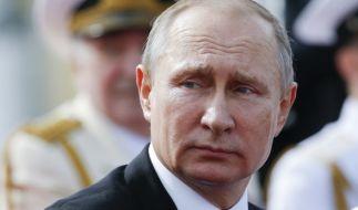 Wladimir Putin reagiert auf die geplanten härteren US-Sanktionen gegen Russland. (Foto)