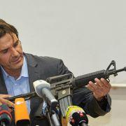 Waffe aus dem Darknet? Woher hatte der Disco-Schütze das Armee-Gewehr? (Foto)