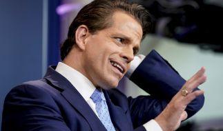 Anthony Scaramucci ist der neue Kommunikationsdirektor im Weißen Haus und berichtet direkt an US-Präsident Donald Trump. (Foto)