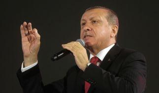 Eine türkische Zeitung, die der Regierung von Staatspräsident Recep Tayyip Erdogan nahesteht, hat bizarre Eroberungsphantasien veröffentlicht. (Foto)