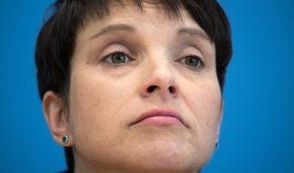 Frauke Petry fordert eine Gebührenpause für Rundfunkbeitragszahler. (Foto)