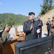 Air-France-Maschine entkam nur knapp Kim Jong-Uns Rakete (Foto)