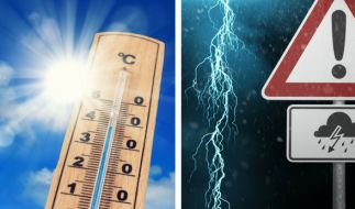 Das Wetter wechselt im August 2017 erneut zwischen Hitze- und Gewitterphasen. (Foto)