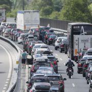 Stau-Gefahr! Auf diesen Autobahnen stockte es am Wochenende (Foto)