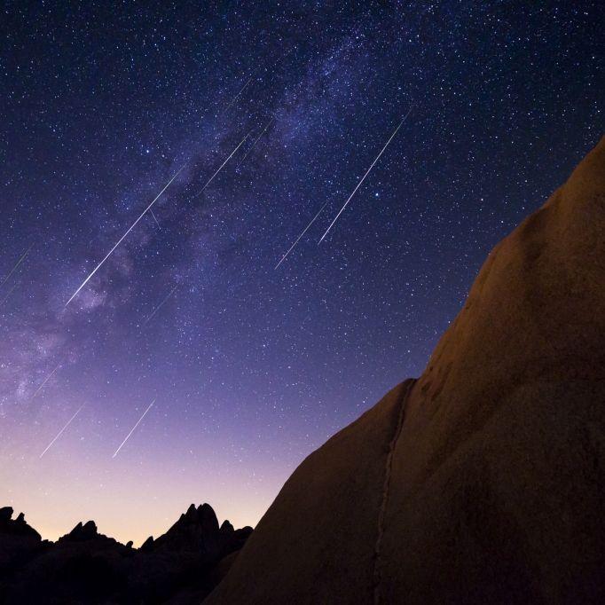 Tausende Sternschnuppen verzaubern den Nachthimmel (Foto)