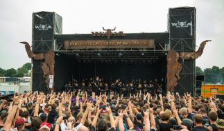 Seit Mittwoch laufen die ersten Konzerte in Wacken. (Foto)