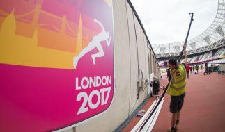 Am Freitag startet die Leichtathletik-WM in London. (Foto)