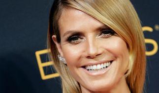 Heidi Klum hat gut lachen: Die Modelmama hat ein geschätztes Vermögen von 90 Millionen US-Dollar auf dem Konto. (Foto)