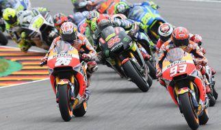 Alle Sessions der MotoGP in Brünn im Livestream oder TV verfolgen: Hier gibt's alle Infos, wie Sie den Grand Prix von Tschechien live mitverfolgen können! (Foto)