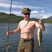 Wladimir Putin macht Kurzurlaub in der sibirischen Tyva Region.