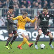 Harter Kampf! Nur Remis bei Dynamo Dresden gegen St. Pauli (Foto)