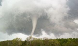 Heute könnten neue Tornados drohen. (Foto)