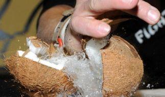 """Beim """"Coco-Nutting"""" entfällt die Handarbeit. (Foto)"""