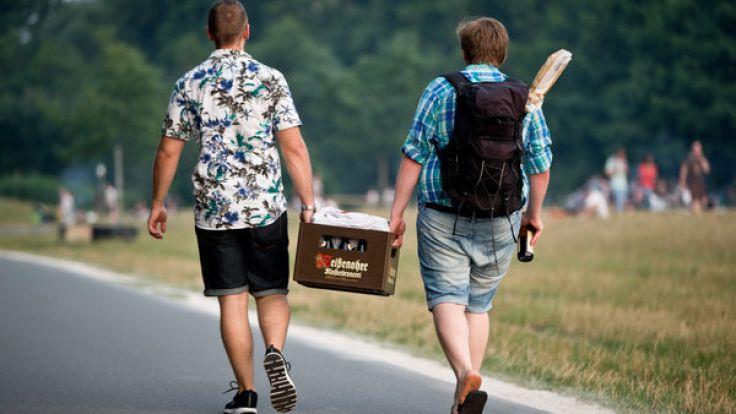 Es gibt einen positiven Einfluß vom Biertrinken auf den Studienabschluss. (Symbolbild) (Foto)