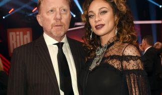 Boris Becker und Ehefrau Lilly. (Foto)