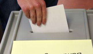 Am 24. September 2017 ist wieder Bundestagswahl. (Foto)