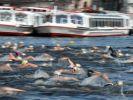 Im Hamburger Ironman-Wettbewerb auf der Langdistanz über 3,8 Kilometer Schwimmen, 180 Kilometer Radfahren und 42,195 Kilometer Laufen sind im Elitefeld 30 Männer und zehn Frauen am Start. (Foto)