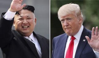 Bluffen Donald Trump und Kim Jong Un nur? (Foto)