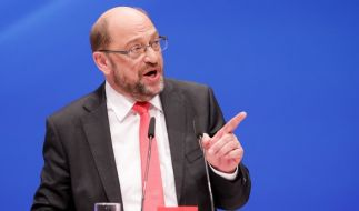 Martin Schulz gibt sich zuversichtlich. (Foto)