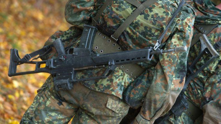 Aufputschmittel unter Bundeswehr-Soldaten sind offenbar keine Seltenheit. (Foto)