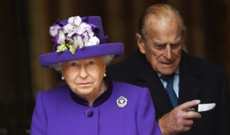 Die Ehe zwischen Queen Elizabeth II und ihrem Gemahl, Prinz Philip, soll nicht immer problemlos verlaufen sein. (Foto)