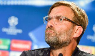 Jürgen Klopp zeigte sich schlagfertig wie immer. (Foto)