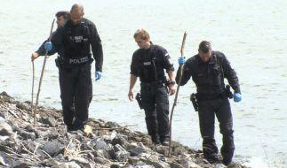 In Hamburg sucht die Polizei nach weiteren Leichenteilen. (Foto)