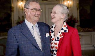 Königin Margrethe II von Dänemark und Prinzgemahl Henrik: Das Paar feierte in diesem Jahr seinen 50. Hochzeitstag. (Foto)