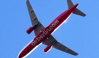 Air Berlin meldet Insolvenz an. (Foto)