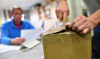 Eine Frau aus China hat offenbar ihr eigenes Kind in einem Paket bei der Post aufgegeben (Symbolbild). (Foto)