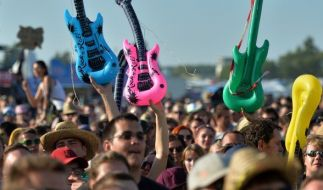 """Beim """"Highfield-Festival"""" wird auch in diesem Jahr wieder kräftig gerockt. (Foto)"""