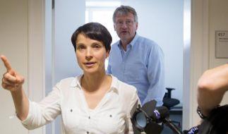 Der Immunitätsausschuss hat über die beantragte Aufhebung der Immunität von Frauke Petry entschieden. (Foto)