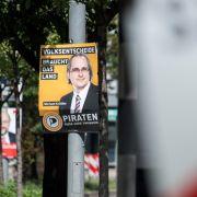 Diese Strafen drohen beim Beschmieren und Abreißen von Wahlplakaten (Foto)