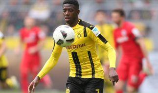 Wechselt Dortmunds Ousmane Dembélé noch in dieser Woche zum FC Barcelona? (Foto)