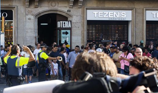Möglicherweise wollten sie den Anschlag auf der Touristenmeile Las Ramblas in Barcelona nachahmen.