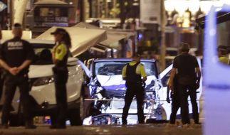 Nach dem Terroranschlag von Barcelona, der mindestens 13 Todesopfer forderte, sind Touristen in der spanischen Metropole zu erhöhter Wachsamkeit aufgerufen. (Foto)