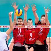 Erfolgreiche EM-Generalprobe für die deutschen Volleyballer gegen Belgien (Foto)