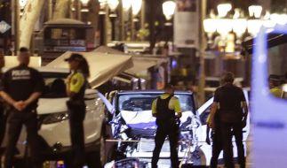 Der Terror-Fahrer von Barcelona könnte noch am Leben sein. (Foto)