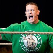 WWE SummerSlam-Action mit Brock Lesnar und John Cena (Foto)
