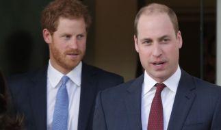 """Prinz William (rechts) und Prinz Harry sollen im neuen """"Star Wars""""-Film zu sehen sein. (Foto)"""