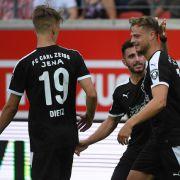 Münster erspielt Auswärtssieg bei Jena mit 1:2 (Foto)