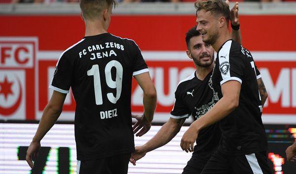 FC Carl Zeiss vs. 1860 München im TV