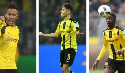 Borussia Dortmund mit Transfers