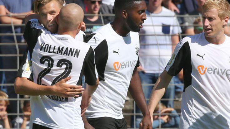 HeimspielSV Sandhausen : Die aktuellen Spielergebnisse der 2. Fußball-Bundesliga bei news.de. (Foto)