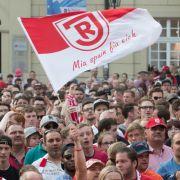Greuther Fürth erringt Auswärtssieg bei Regensburg mit 0:2 (Foto)