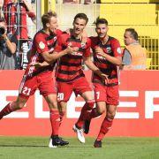 Halle holt Auswärtssieg bei Ingolstadt mit 2:3 (Foto)