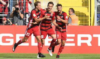 Heimspiel FC Ingolstadt 04: Die aktuellen Spielergebnisse der 3. Fußball-Liga bei news.de. (Foto)