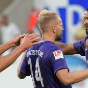 Die Highlights von FC Erzgebirge Aue vs. 1. FC Heidenheim (Foto)